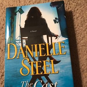 "Danielle Steel ""The Cast"" Hardback Book"